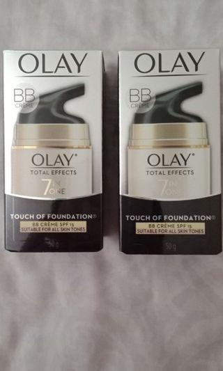 2pc Olay bb creme 7in1