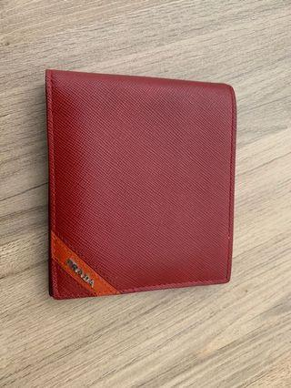 30fc38cad35c1f prada wallet red | Bags & Wallets | Carousell Singapore