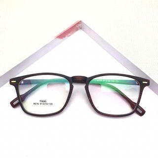 Kacamata Fashion Motif Serat Kayu