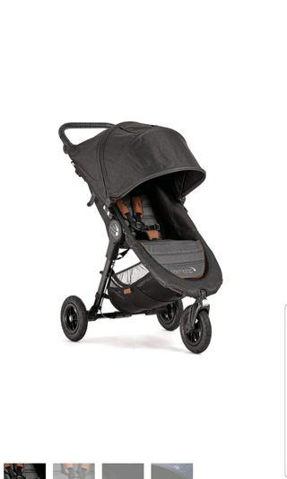 Baby Jogger CARRY BAG CITY MINI ZIP BLACK Pushchair Stroller Accessory BN