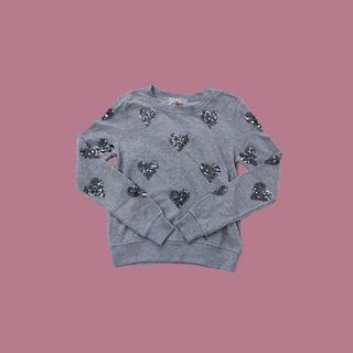 🚚 Sequin Hearts Sweater