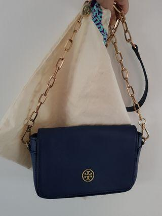 ( No nego ) Authentic Tory Burch Navy Sling Bag
