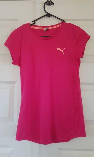 Puma pink active top