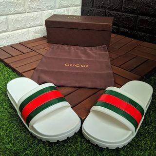 Gucci Sandal Pursuit Trek White