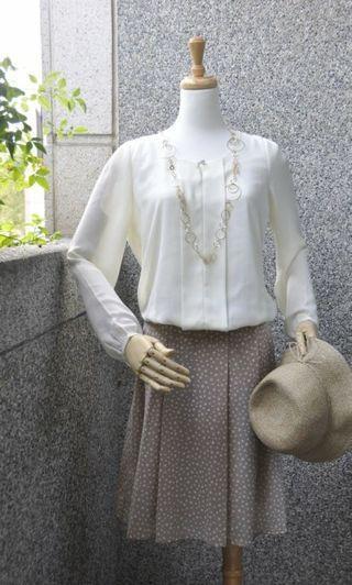 🚚 日本品牌CLEAR IMPRESSION  雪紡上衣