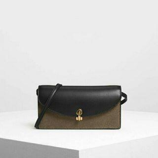 Charles and keith city wallet ori