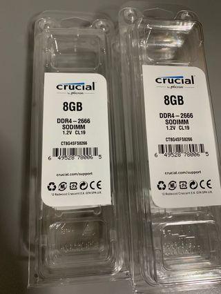 🚚 Brand new in box 8GB DDR4 2666 RAM