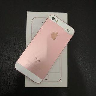 iPhone 5 SE 16gb Rosegold ex inter
