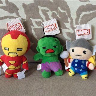 🚚 BN Marvel - Ironman, Hulk & Thor