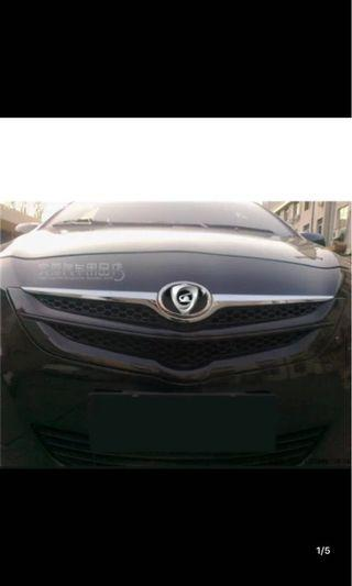 Toyota Ncp93 Front bonnet chrome grille vios grill