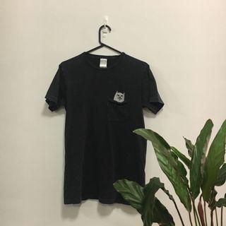 Dark acid wash RIPNDIP shirt