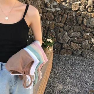 [po] basic plain colored camisole