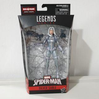 Marvel Legends Silver Sable No baf