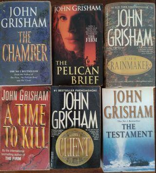 🚚 John Grisham Books