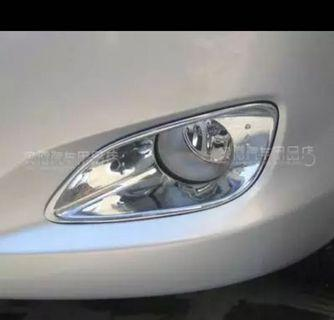 Toyota Ncp93 fog light chrome cover grille vios grill