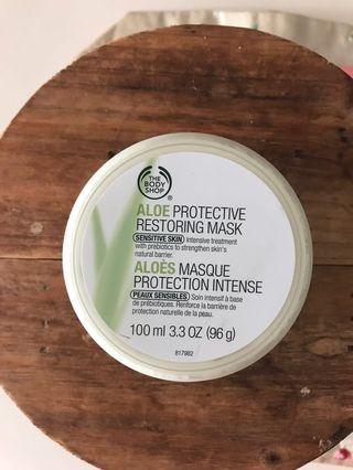 The Body Shop Aloe Protective Mask