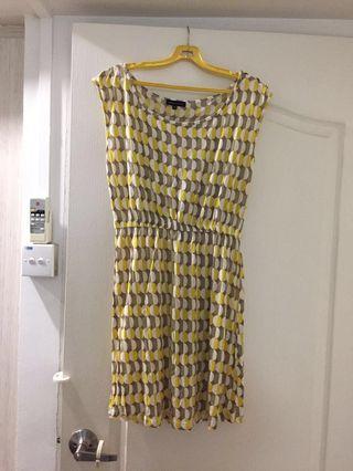 Wide Collar cotton dress