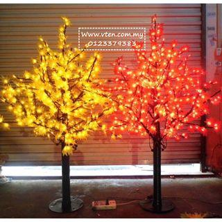 [Pre Order] Custom made Artificial Maple Tree LED Light Outdoor Decoration Any Size & Colour (Not Real Price)
