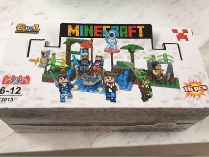 🚚 Minecraft 積木 一組8盒250