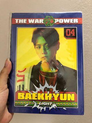 EXO Baekhyun Notebook Official Merchandise