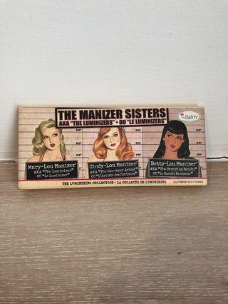(preloved) The Balm Manizer Sisters