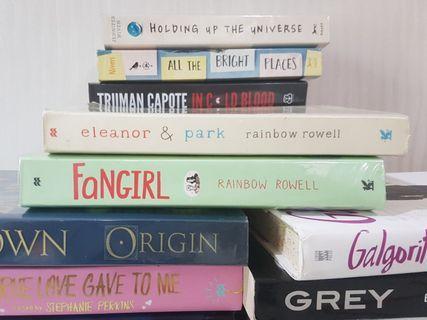[PRELOVED] Novel Inggris Novel Import Fangirl, Eleanor and Park [NEGOTIABLE]
