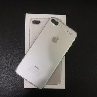 iPhone 7 Plus 256gb Silver Ex inter Zpa Mulus
