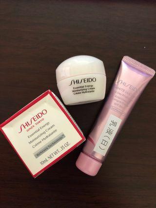 📍包郵 - Shiseido資生堂精華面霜乳液試用裝