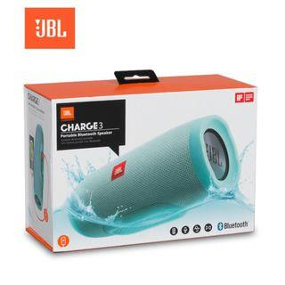 JBL - Charge 3 無線藍牙防水喇叭充電器(湖水綠色)全新未開 $830