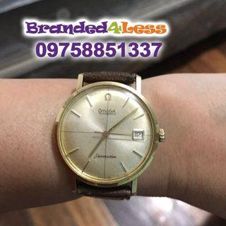 Original Vintage Omega Seamaster Circa Cross 18CT Gold Watch