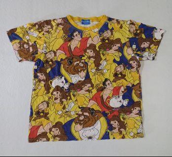 disney full printed tshirt