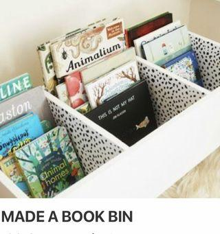 New DIY Book storage / Bin / Rack