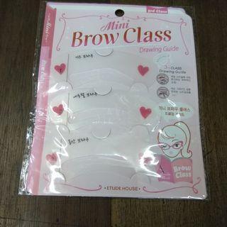 Cetakan Alis-Mini Brow Class-Eyebrow Style