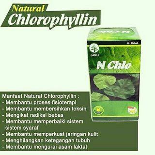 Natural Chlorophyllin Nasa Obat Berhenti Merokok