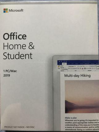 🚚 Microsoft Office Home & Student 2019