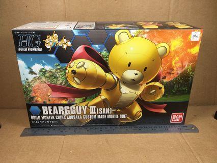 Bandai Models HG Build Fighters 005 1/144 Beargguy III(San) 0186417