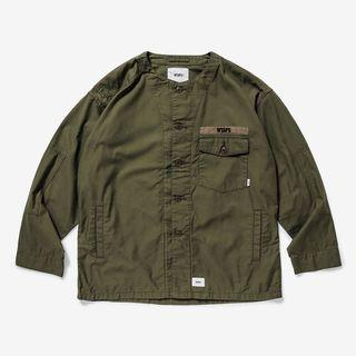Wtaps 19SS Scout L/S shirt cotton satin size M