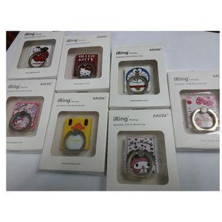 HK$10/3個(隨機抽不選款) ~ 全新手機背扣, 手指環, 手機指環
