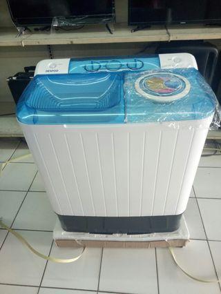 Mesin cuci denpoo 2 tabung bisa cicilan 0% tanpa CC tanpa DP