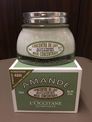 Loccitane 💆🏻♀️杏仁 Almond Milk concentrate 100ml