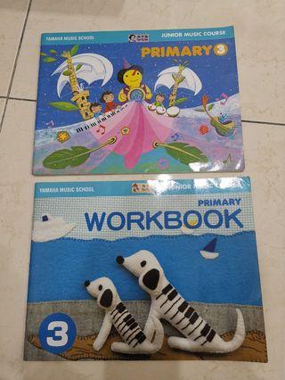 YAMAHA JMC text book and workbook