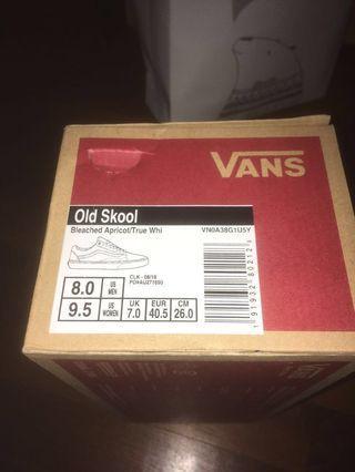 Vans Old Skool Bleached Apricot