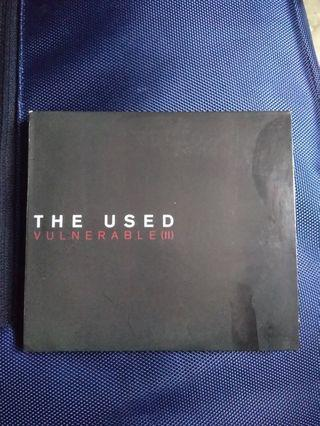 Import CD ORI - THE USED - VULNERABLE II - 2CD