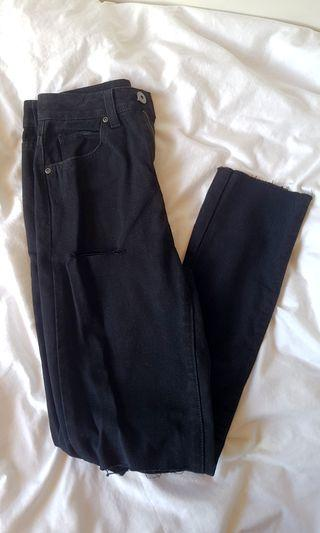 Brand new black ripped jeans