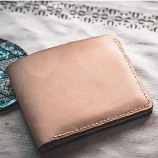 (Price Reduced)Handmade Natural Veg Tan Wallet