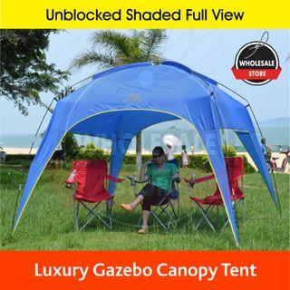 Luxury Blue outdoor tent, Blue Gazebo tentage, camping tent