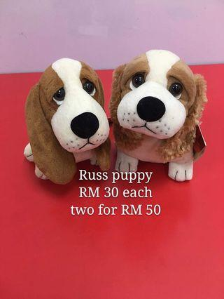Russ berrie puppy toys