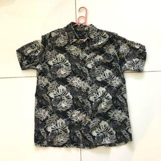 Floral Camp Collared Shirt