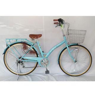 ( 1 ) 進口 日本淑女車26吋shimano六段變速腳踏自行車 與日本市場同步