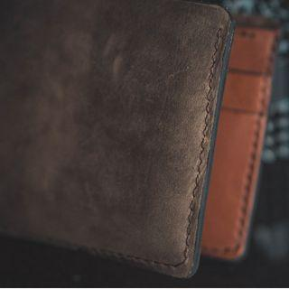 (Price Reduced) Handmade Bifold Wallet